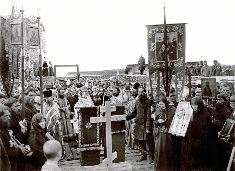 Освящение храма Покрова Пресвятой Богородицы