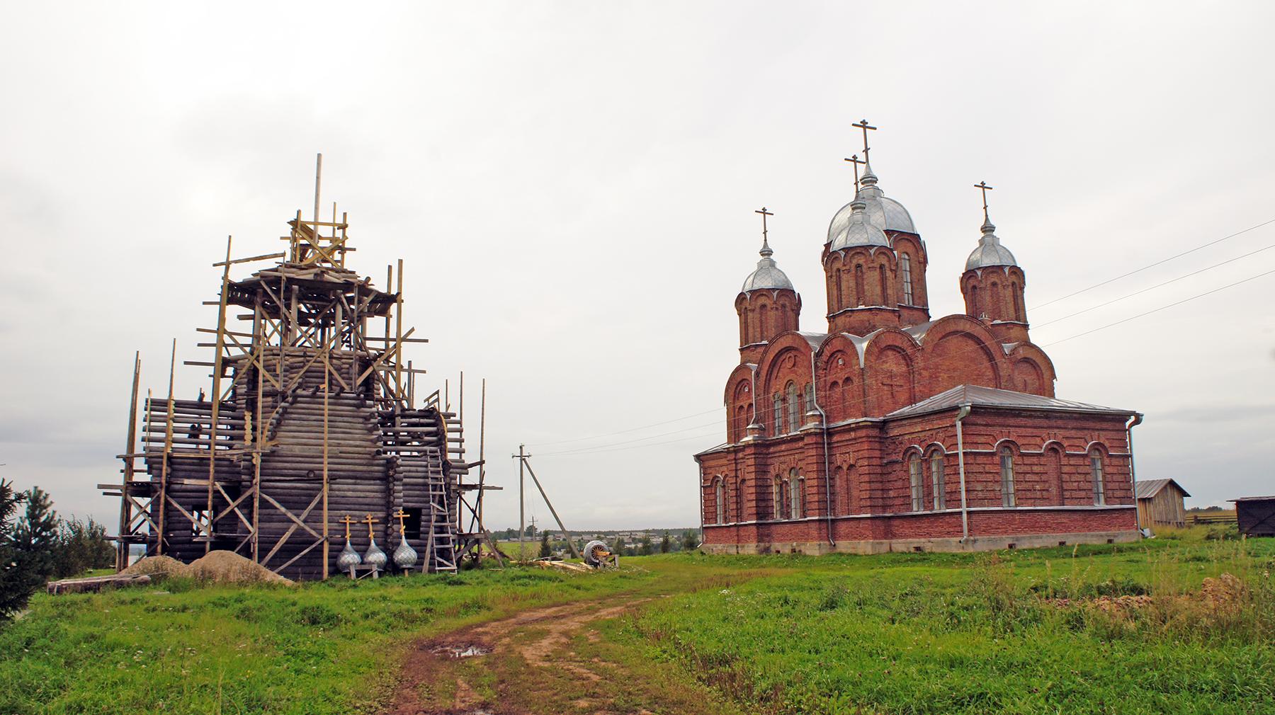 Современное состояние церкви Николая Чудотворца и храма Покрова Пресвятой Богородицы